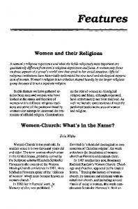 Women and their Religions