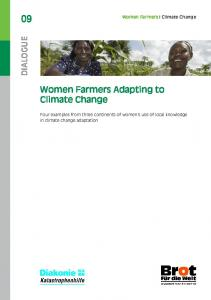 Women Farmers Adapting to Climate Change