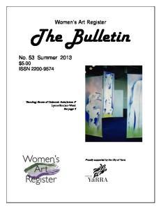 Women s Art Register The Bulletin