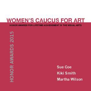WOMEN S CAUCUS FOR ART