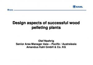 Wood and Biomass Pelleting