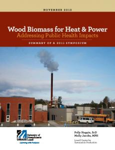 Wood Biomass for Heat & Power