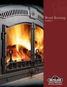 Wood Burning. Fireplaces
