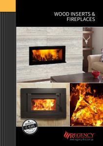 WOOD INSERTS & FIREPLACES