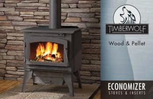 Wood & Pellet ECONOMIZER STOVES & INSERTS