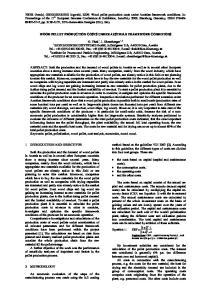 WOOD PELLET PRODUCTION COSTS UNDER AUSTRIAN FRAMEWORK CONDITIONS