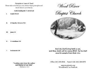 Wood River Baptist Church