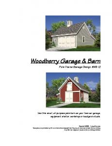 Woodberry Garage & Barn