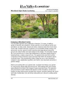 Woodland-Style Shade Gardening