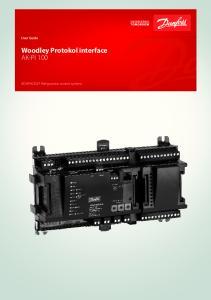 Woodley Protokol interface AK-PI 100