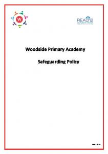 Woodside Primary Academy Safeguarding Policy