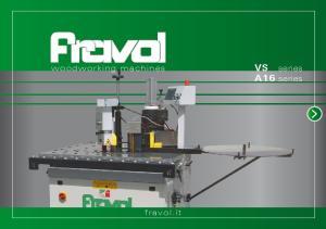 woodworking machines VS series A16 series fravol.it