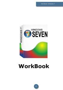WorkBook Windows 7. WorkBook