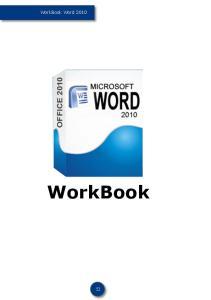 WorkBook Word WorkBook