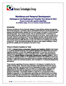 Workforce and Personal Development