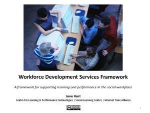 Workforce Development Services Framework