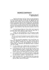 WORKS CONTRACT. Ajai Tandon, Advocate Mob