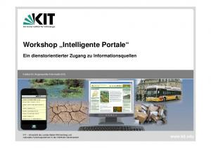 Workshop Intelligente Portale
