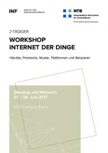 WORKSHOP INTERNET DER DINGE