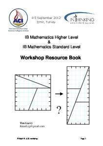 Workshop Resource Book