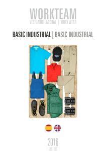 WORKTEAM VESTUARIO LABORAL WORK WEAR BASIC INDUSTRIAL BASIC INDUSTRIAL