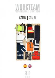 WORKTEAM VESTUARIO LABORAL WORK WEAR COMBI COMBI