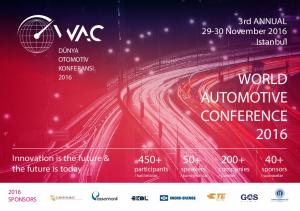 WORLD AUTOMOTIVE CONFERENCE