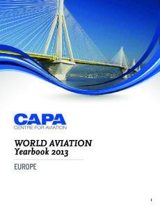 WORLD AVIATION Yearbook 2013 EUROPE