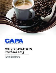 WORLD AVIATION Yearbook 2013 LATIN AMERICA