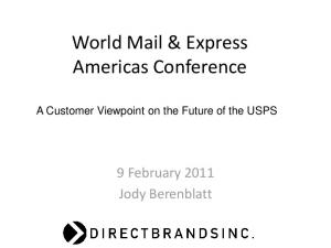 World Mail & Express Americas Conference