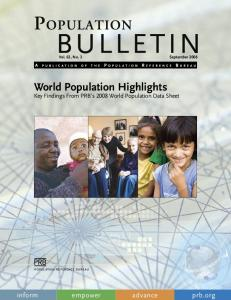 World Population Highlights
