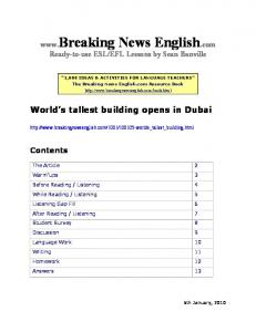 World s tallest building opens in Dubai