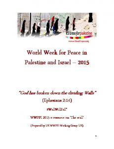 World Week for Peace in Palestine and Israel 2015