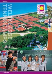 WORLDCLASS. Novak Djokovic WORLDCLASS