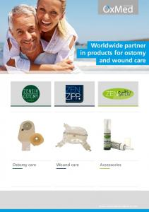 Worldwide partner in products for ostomy and wound care Ostomy care Wound care Accessories