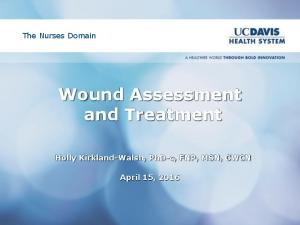 Wound Assessment and Treatment