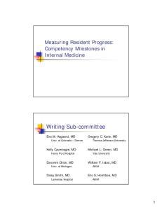 Writing Sub-committee