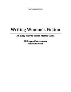 Writing Women s Fiction