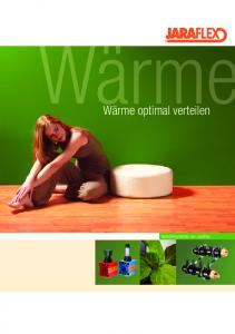 Wärme optimal verteilen