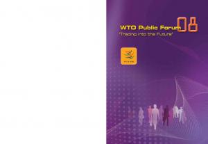 WTO publications can be obtained through major booksellers or: