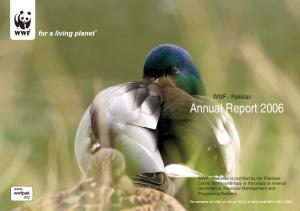 WWF - Pakistan Annual Report 2006