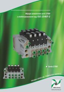 Wyspa zaworowa serii 2700 z elektrozaworami wg ISO Seria 2700