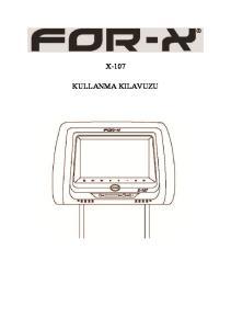 X-107 KULLANMA KILAVUZU