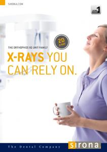 X-rays you can rely on