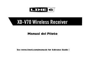XD-V70 Wireless Receiver