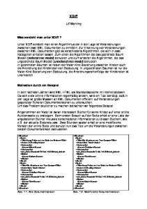 XDiff. Ulf Wehling. Was versteht man unter XDiff?