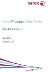 Xerox Mobile Print Portal
