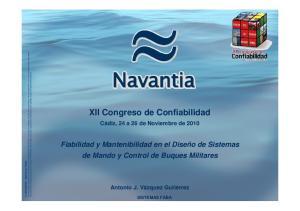 XII Congreso de Confiabilidad
