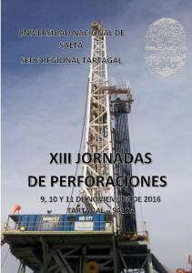 XIII JORNADAS DE PERFORACIONES