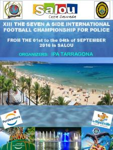 XIII THE SEVEN A SIDE INTERNATIONAL FOOTBALL CHAMPIONSHIP FOR POLICE